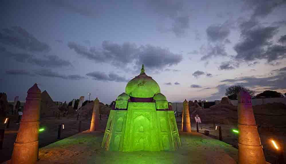 Uluslararası Antalya Kum Heykel Festivali'nin hazırlıkları tamamlandı
