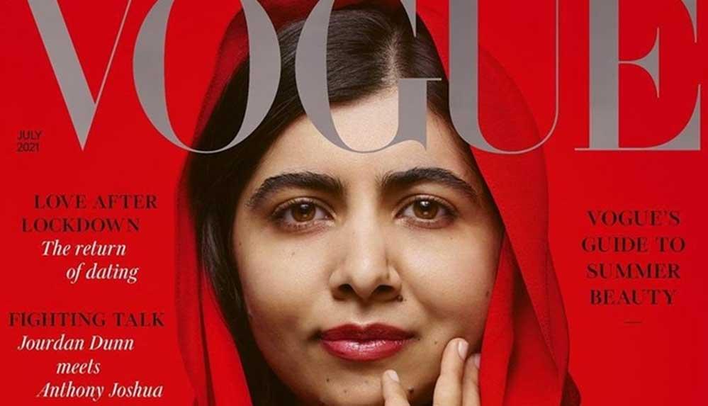 Vogue'a kapak olan Pakistanlı Malala: Sonunda üniversitede yaşıtlarımla bir araya geldim