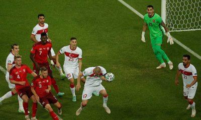 İsviçre'ye 3-1 yenilen A Milli Futbol Takımı turnuvaya veda etti