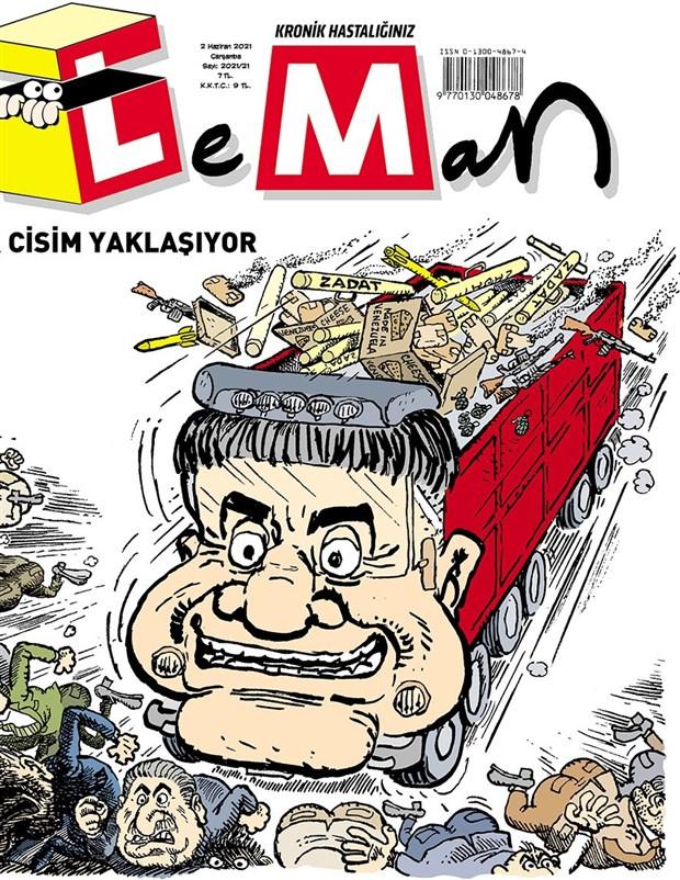 """LeMan'dan konuşulacak Sedat Peker kapağı: """"Bir cisim yaklaşıyor"""""""