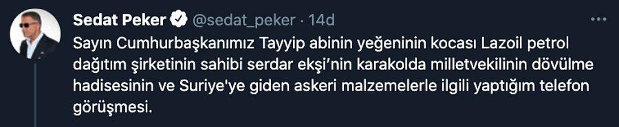 Serdar Ekşi kimdir? Sedat Peker'in görüştüğü Serdar Ekşi, Erdoğan'ın akrabası mı?