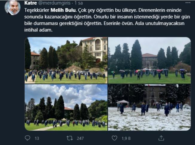 """Melih Bulu'nun, Erdoğan'ın kararıyla görevden alınması sosyal medyanın gündeminde: """"Geldiği gibi gitti"""""""