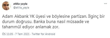 Kendisini hedef alan Prof. Dr. Özgür Demirtaş'tan Atilla Yayla'ya: Siyasal İslam'a yanlayan bir liboşsunuz