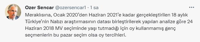 """Genç seçmen protesto oy kullanacak"""