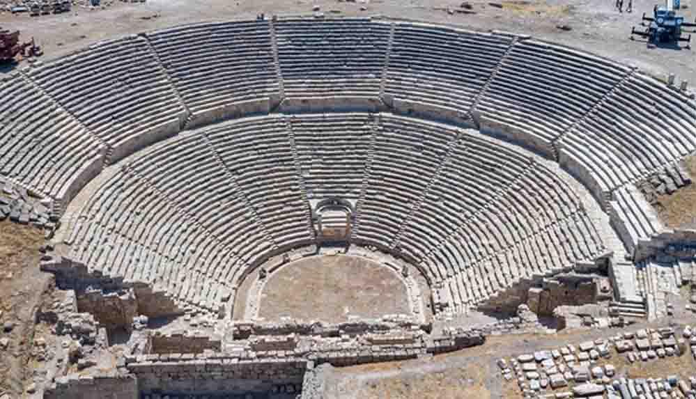 2 bin 200 yıllık Laodikya Antik Tiyatrosu'nda çalışmalar tamamlandı
