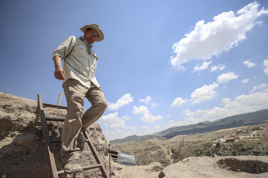 İnsanlık tarihinin izini Anadolu'da Japon arkeolog Kimiyoshi Matsumura sürüyor