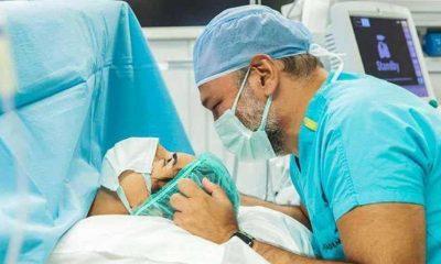 Ali Sunal ile eşi Nazlı Kurbanzade'nin ikinci çocukları dünyaya geldi