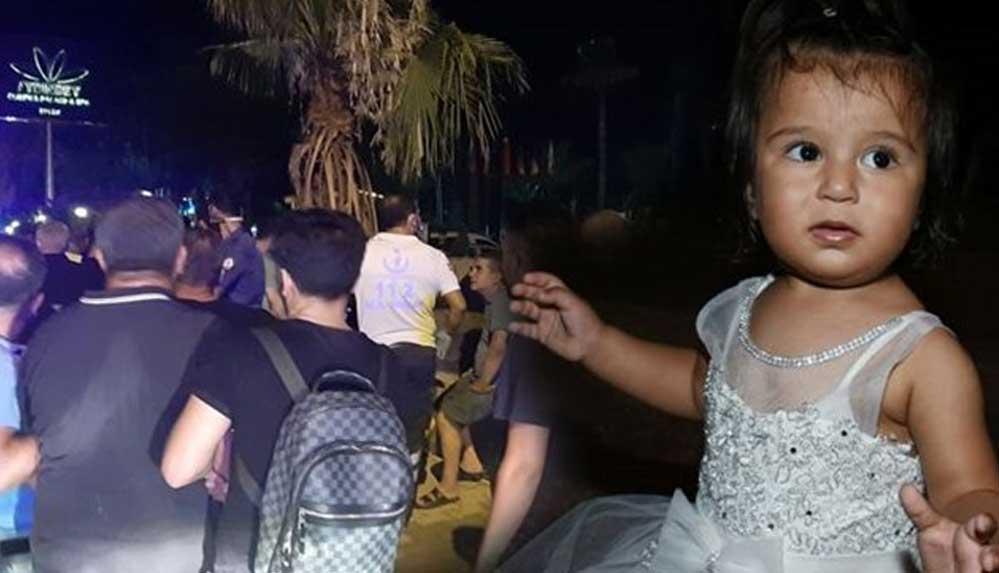 Antalya'da kaybolan 2 yaşındaki Ecrin'den acı haber