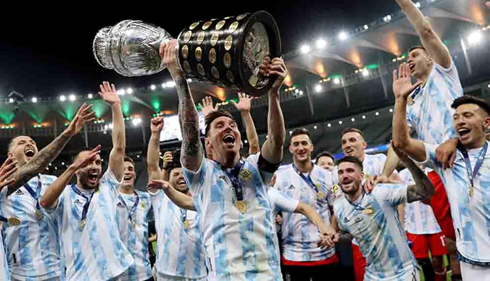 Arjantin, Copa America finalinde şampiyon oldu!
