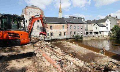 Belçika'da sel felaketinde hayatını kaybedenlerin sayısı 37'ye yükseldi