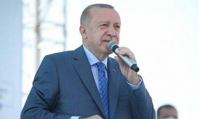 Cumhurbaşkanı Erdoğan: THK'da buralarda rahatlıkla kullanılabilecek uçak yok