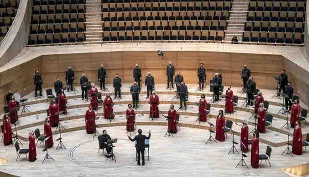 Devlet Çoksesli Korosu, a capella konserinde seyirciyle buluşacak