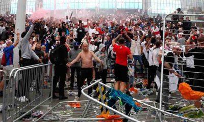 EURO 2020 finalinde İngiltere - İtalya arasındaki olaylar damga vurdu