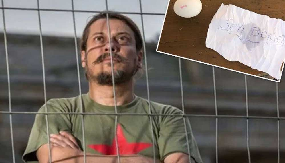 Gazeteci Erk Acarer'e bu kez yumurtalı tehdit