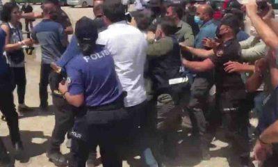 HDP'li Gergerlioğlu için düzenlenen 'adalet nöbeti'nde 4 kişi gözaltına alındı