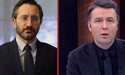 Habertürk sunucusu Mehmet Akif Ersoy'dan Fahrettin Altun'a 'kınama' yanıtı