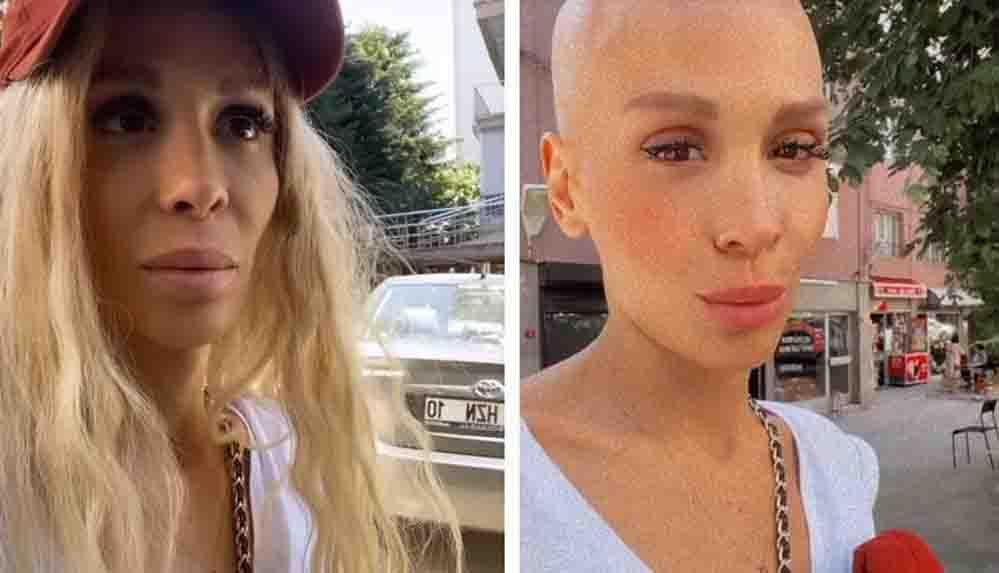Kanser tedavisi gören şarkıcı Şimal hastaneye kaldırıldı
