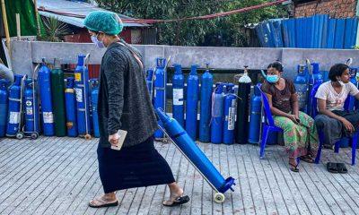 Kovid-19'un yayıldığı Myanmar'da gerekli tıbbi malzemeler tedarik edilemiyor