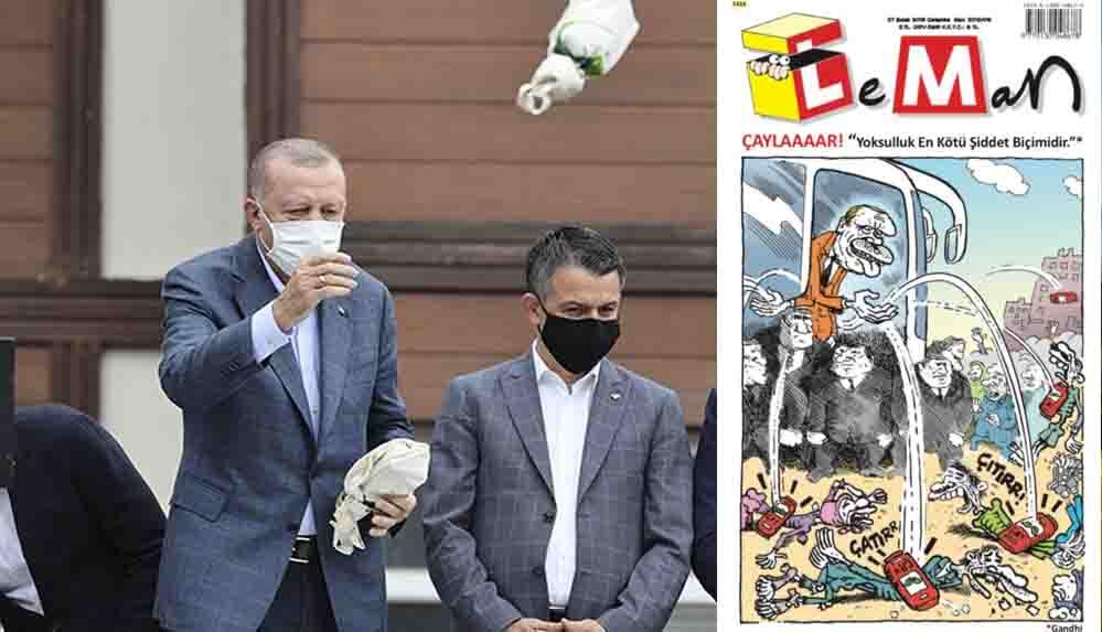 LeMan'dan Erdoğan'ı çok kızdıracak 'çay saati' kapağı