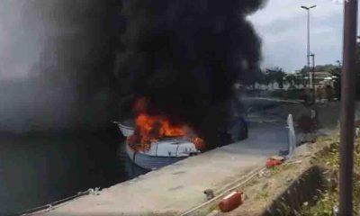 Son Dakika... Maltepe sahilde birçok tekne alev aldı!