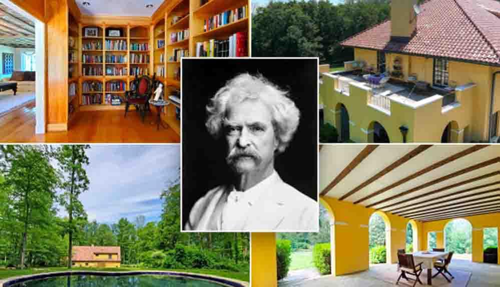 Mark Twain'in Toskana villası 4.2 milyon dolara satışa çıktı