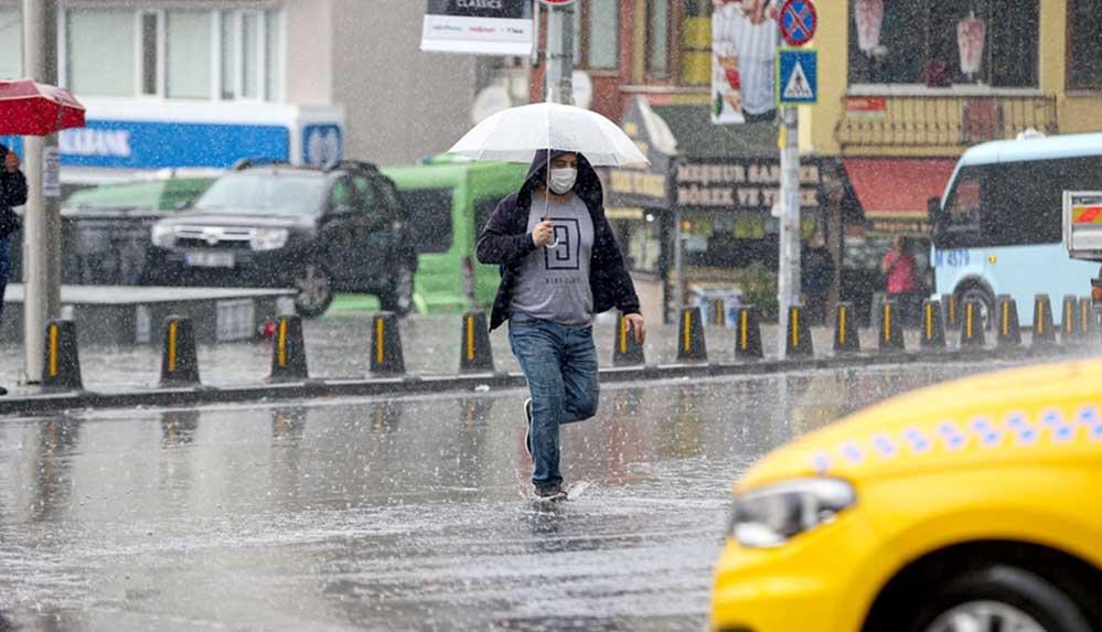 Meteorolojiden dört bölge için sağanak yağış uyarısı