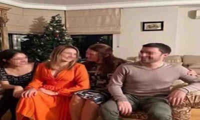 Münevver Karabulut'un katili Cem Garipoğlu'nun ailesinin bir skandal fotoğrafı daha çıktı!