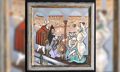 Picasso'ya ait olduğu düşünülen ve 50 yıl boyunca dolapta kalan tablo satıldı