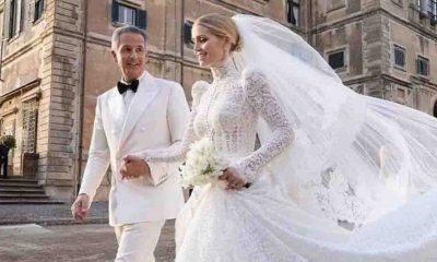 Prenses Diana'nın yeğeni Lady Kitty Spencer, kendisinden 32 yaş büyük milyarder Michael Lewis ile evlendi