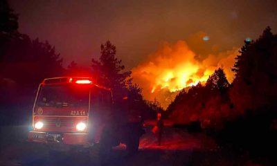 Son Dakika... Manavgat orman yangınında 1 kişi hayatını kaybetti, 10 kişi mahsur kaldı!
