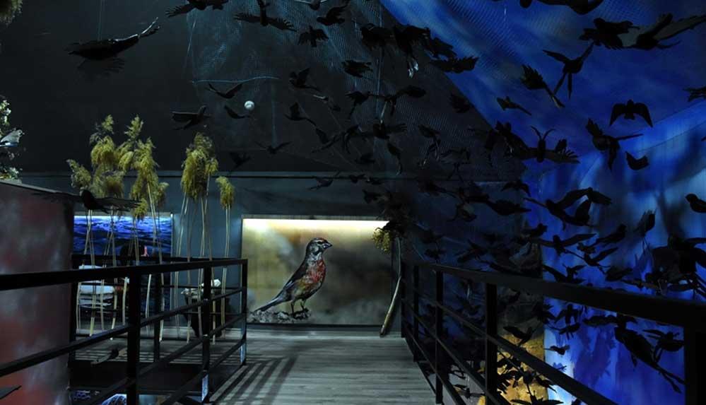 'Tabiatın kalbinde beş dakika mola' sloganıyla kurulan tahnit müzesi meraklılarını bekliyor