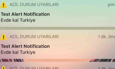 iPhone kullanıcıları acil durum bildirimi aldı