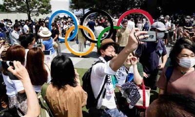 Tokyo Olimpiyatların 5. gününde Tokyo'da günlük Covid-19 vaka rekoru kırıldı