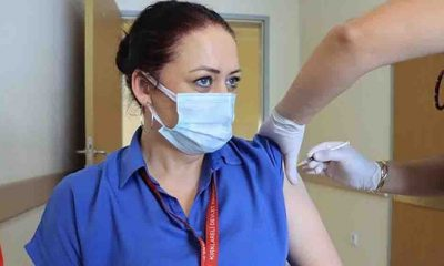 Trakya'da 3. doz aşı uygulaması başladı
