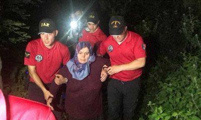 Uludağ'da ormanda kaybolan kadın 3 gün sonra bulundu