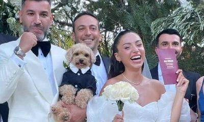 Ünlü şarkıcı Zeynep Bastık ile Tolga Akış evlendi