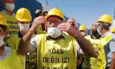Uyar Maden işçilerinin Ankara'ya girişine izin verilmedi; işçiler Bakan Soylu'nun verdiği sözü hatırlattı