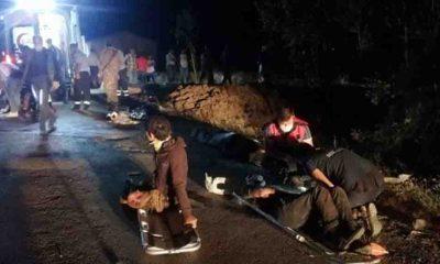 Van'da düzensiz göçmenleri taşıyan minibüs şarampole devrildi: 12 ölü, 20 yaralı