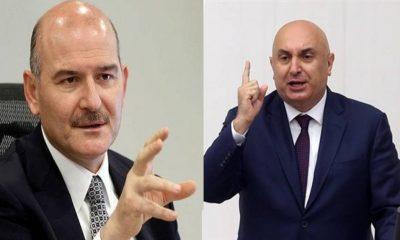 CHP'li Özkoç ile Bakan Soylu arasında 'sabotaj' görüşmesi