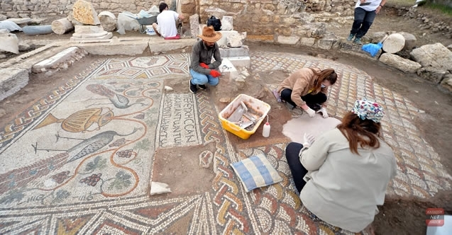 Hadrianaupolis Antik Kenti'nde kazı çalışmaları devam ediyor