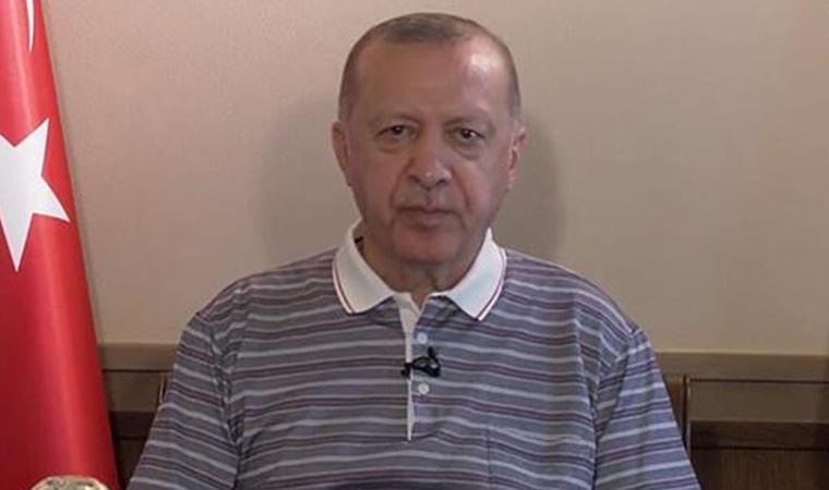 Erdoğan'ın görüntüleri sosyal medyada gündem oldu: Uyukladı, konuşmakta zorlandı