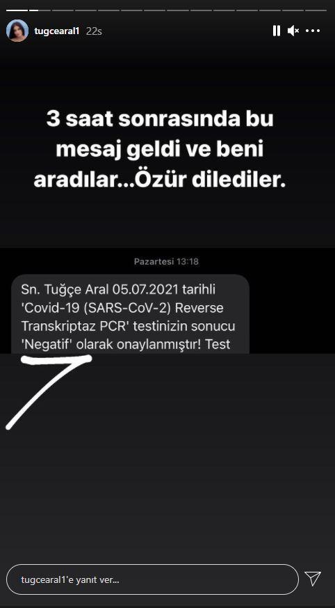 Manken Tuğçe Aral'ın PCR testi Bursa'da pozitif, İstanbul'da negatif çık!