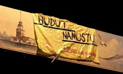 İstanbul'da 'Hudut Namustur' pankartıyla ilgili gözaltına alınan Semir Yapıcı saldırıya uğradı