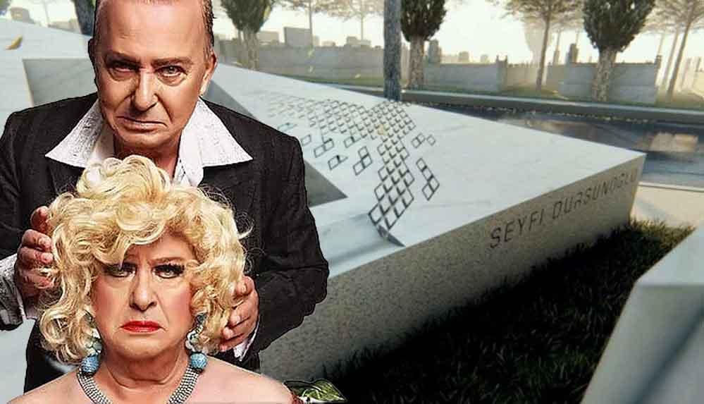 'Huysuz Virjin' Seyfi Dursunoğlu için anıt mezar yapıldı