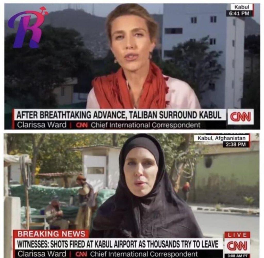 Afganistan'daki CNN muhabiri Clarissa Ward'tan açıklama