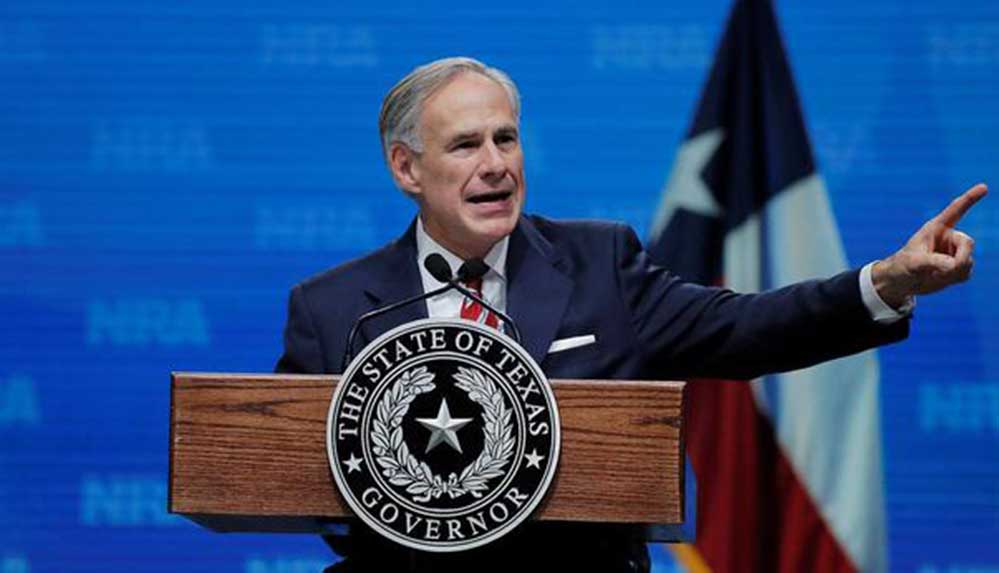 ABD'de maske düzenlemelerini yasaklayan Texas Valisi covid-19'a yakalandı