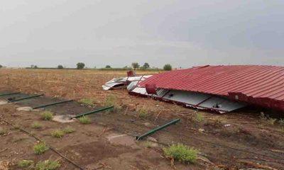 Adana Kozan'da fırtına ve sağanak etkili oldu
