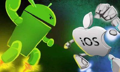 Android işletim sistemi iOS'a fark attı