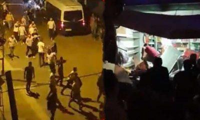 18 Yaşındaki gencin öldürüldüğü Altındağ'da halk Suriyelilerin dükkanlarına saldırıyor
