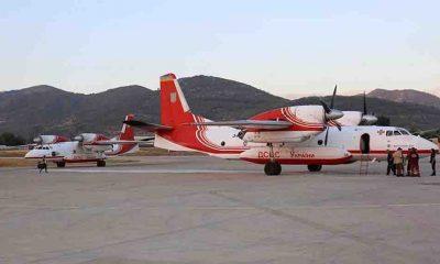 Antalya'daki orman yangınlarına etkin müdahale için Ukrayna'nın 2 uçağı destek veriyor